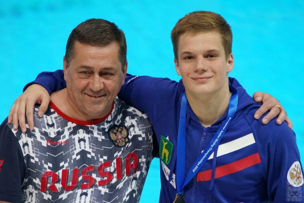 Челябинский спортсмен Григорий Иванов стал трехкратным победителем первенства Европы по прыжкам в