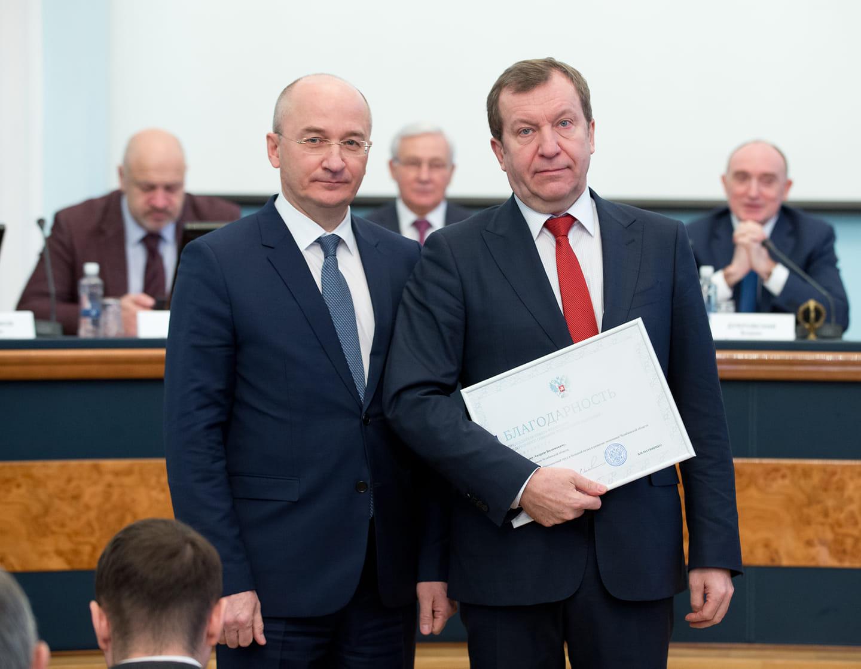 Председатель Совета Федерации РФ Валентина Матвиенко объявила благодарность министру финансов Чел