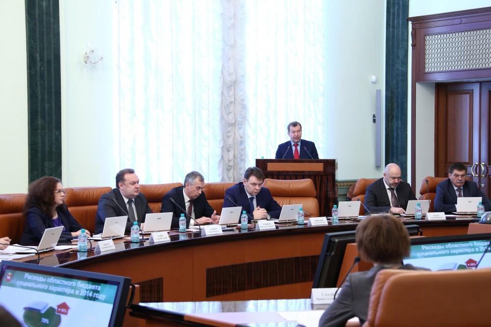 Сегодня, 18 марта, министр финансов области Андрей Пшеницын доложил на заседании правительства о