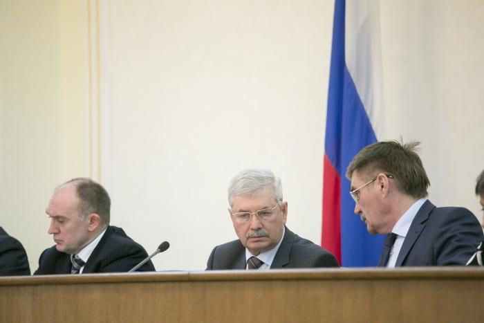 «Мы, депутаты, этому только рады, - заявил журналистам председатель Заксобрания Владимир Мякуш. –