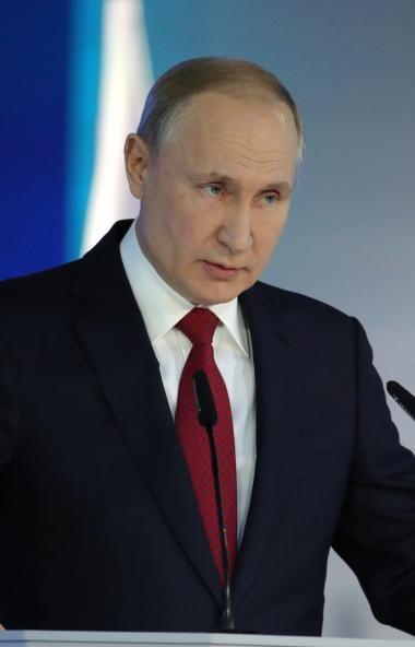 Президент России Владимир Путин, выступая с Посланием Федеральному собранию, заявил о необходимос