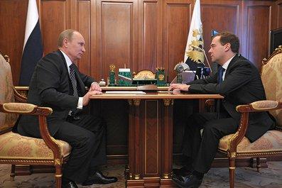 Прежде чем подписать Указы, Владимир Путин встретился с каждым кандидатом, предложенным Дмитрием