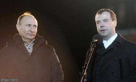 Председатель Центральной избирательной комиссии Владимир Чуров озвучил предварительные итоги голо