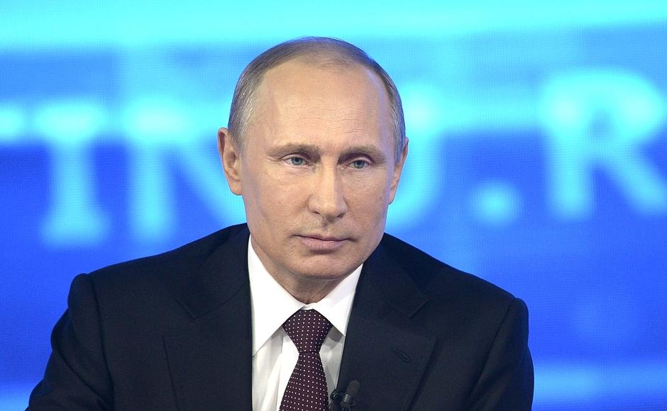 Малыш бойко задал свой вопрос Владимиру Путину в ходе прямой линии. Он рассказал, что мечтает ста