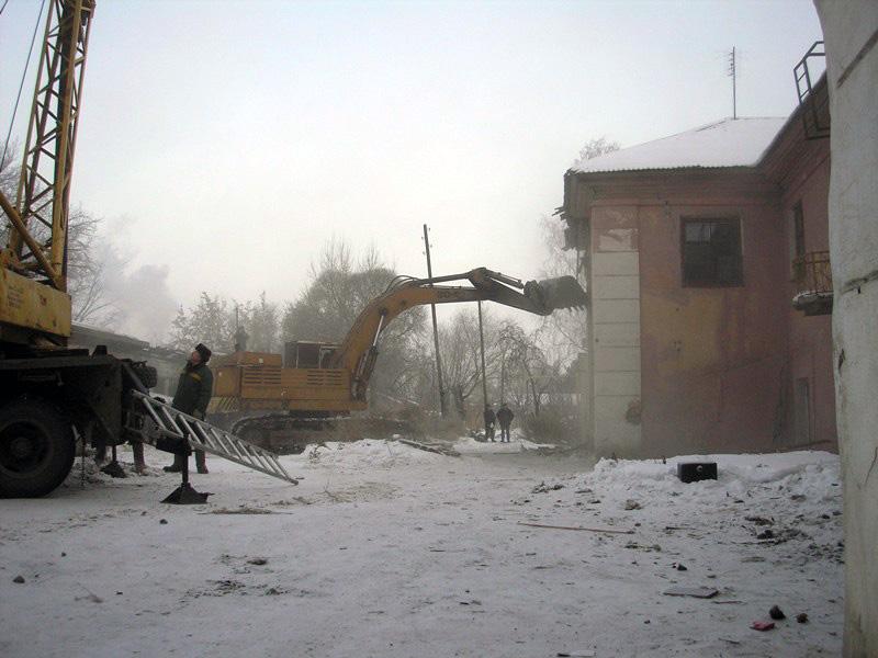 До конца февраля в новые дома в Чурилово переедут жители двух бараков, чье переселение было запла