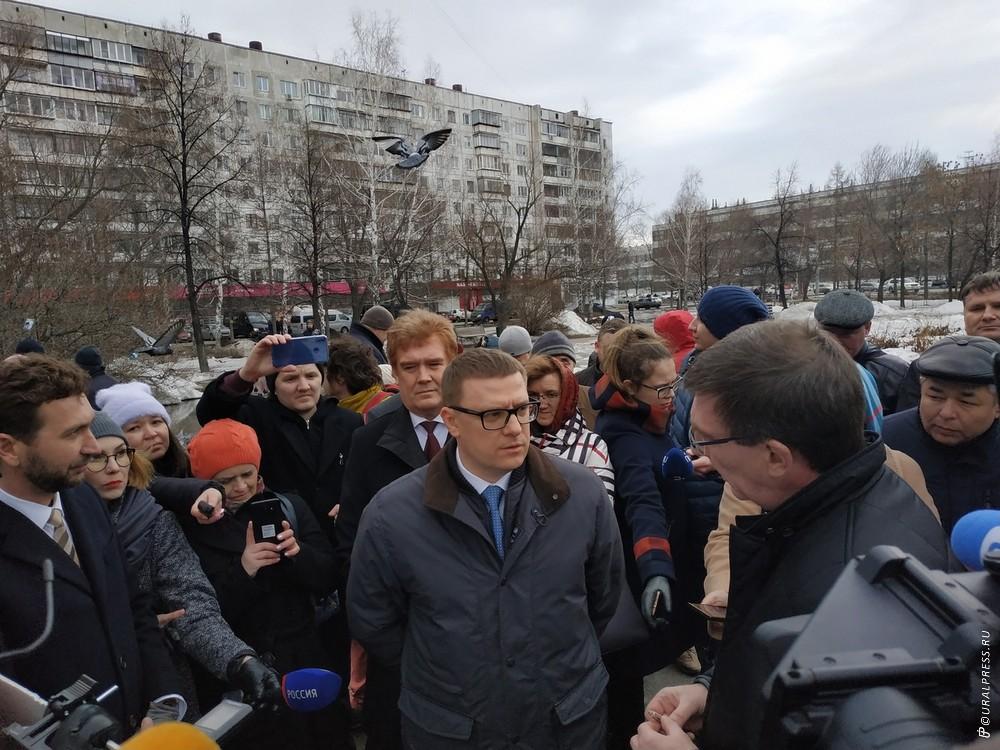 Временно исполняющий обязанности губернатора Челябинской области Алексей Текслер