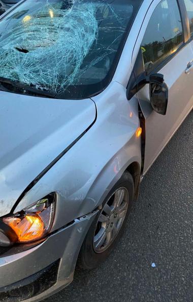 В Челябинске пьяный водитель сбил пешехода, переходящего дорогу по «зебре». В результате ДТП он п