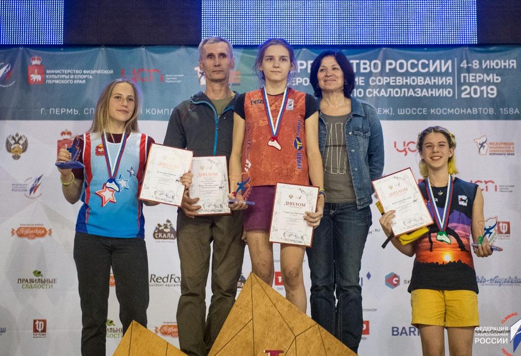 Скалолазка из города Коркино Челябинской области Марина Кушанина завоевала «серебро» всероссийск