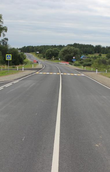 В Курганской области завершился ремонт дорог и мостов на федеральных трассах Р-254 «Иртыш» и Р-35