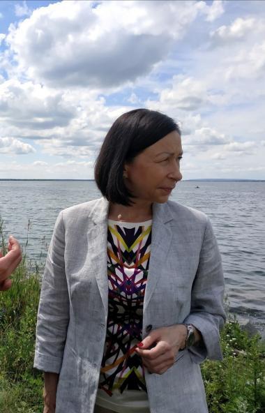 Набережная озера Смолино в Челябинска, благоустраиваемая по федеральной программе