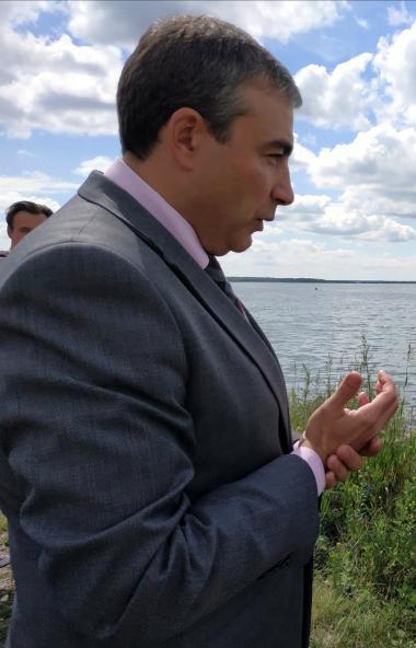 Свердловчане срывают сроки благоустройства набережной озера Смолино в Ленинском районе Челябинска