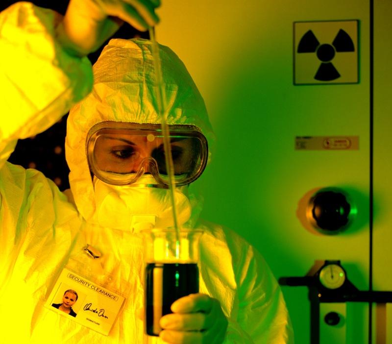 По словам руководителя службы информации АЭС Валерия Кузнецова, радиоактивные частицы были обнару