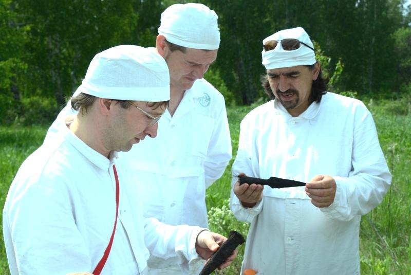 Участники озерской археологической экспедиции в сопровождении работников ПО «Маяк» провели изыска