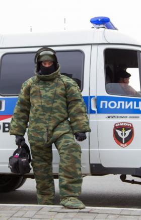 В Сосновском районе (Челябинская область) сотрудники ОМОН Росгвардии обследовали найденные артилл