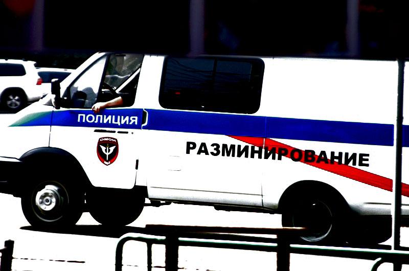 В Челябинске оцепили территорию возле отдела полиции «Центральный». На стройке строительного комп