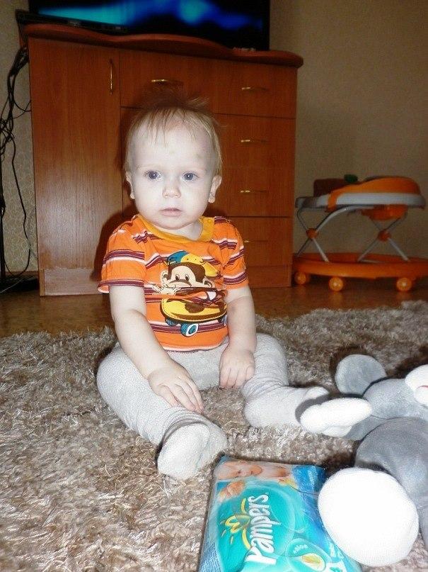 У маленького Димы Ащепкова - острый лимфобластный лейкоз, рак крови. 28 марта ему исполняется оди