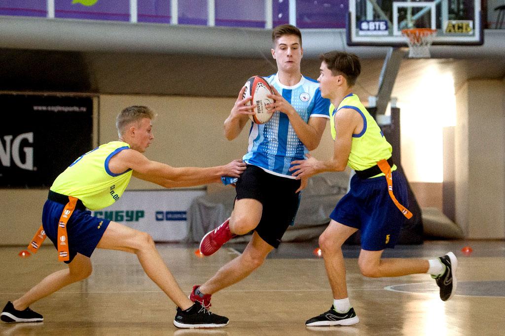 Во второй день состязаний на Всероссийских играх школьных спортивных клубов, команда мальчишек из