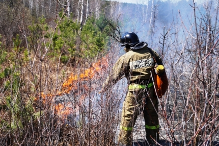 В воскресенье, 20 мая, в Челябинской области сохраняется высокая пожарная опасность и вероятность