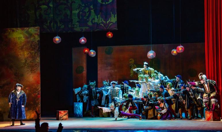 В Челябинске 20-го мая на сцене театра оперы и балета имени Глинки покажут знаменитого «Риголетто