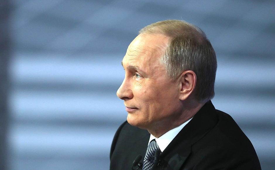 Владимир Путин ответил, что не считает правильным писать: «Пальмовое масло убивает». Не все счита