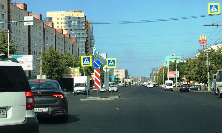 Споры вокруг реконструкции Комсомольского проспекта в Челябинске по поводу появления там так назы