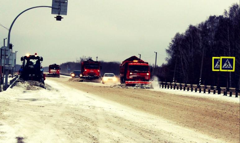 В Челябинской области вводятся временное ограничение движения автомобилей на двух участков федера