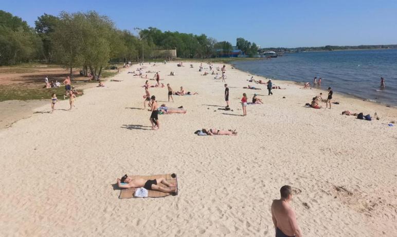 Благоустройство муниципальных пляжей Челябинска планируется завершить к 25-му мая.  Об э