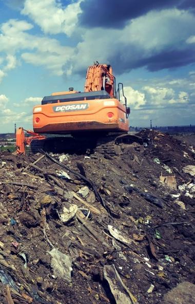 Работы по ликвидации городской свалки в Металлургическом районе Челябинска ведутся в соответствии