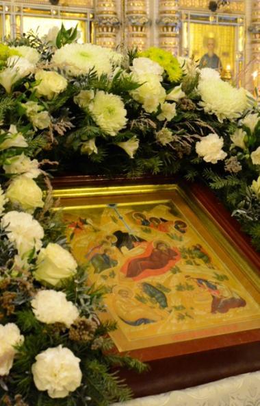 В Рождественский сочельник, 6 января 2020 года, митрополит Челябинский и Миасский Григорий соверш