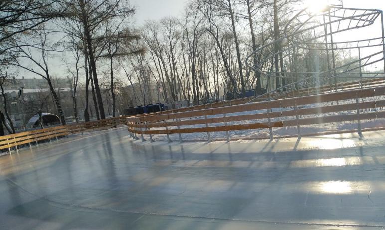 Глава Челябинска Наталья Котова предложила сделать катание на коньках в парке имени Терешковой в