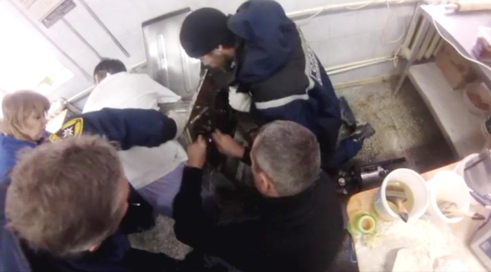 Инцидент произошел сегодня, первого февраля, на одном из предприятий по изготовлению хлебобулочны