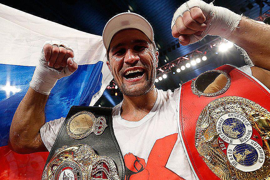 Уроженца Копейска, российского боксера-профессионала Сергея Ковалева Алексей Текслер позвал на ро