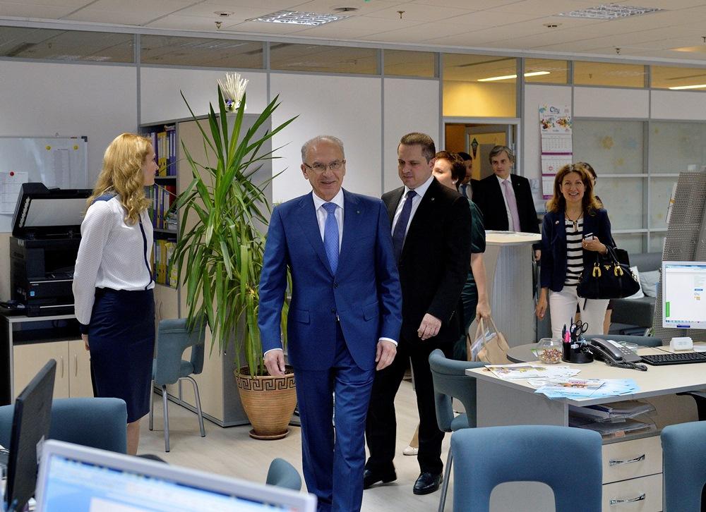 Как сообщили агентству «Урал-пресс-информ» в пресс-службе компании, в присутствии Владимира Черка