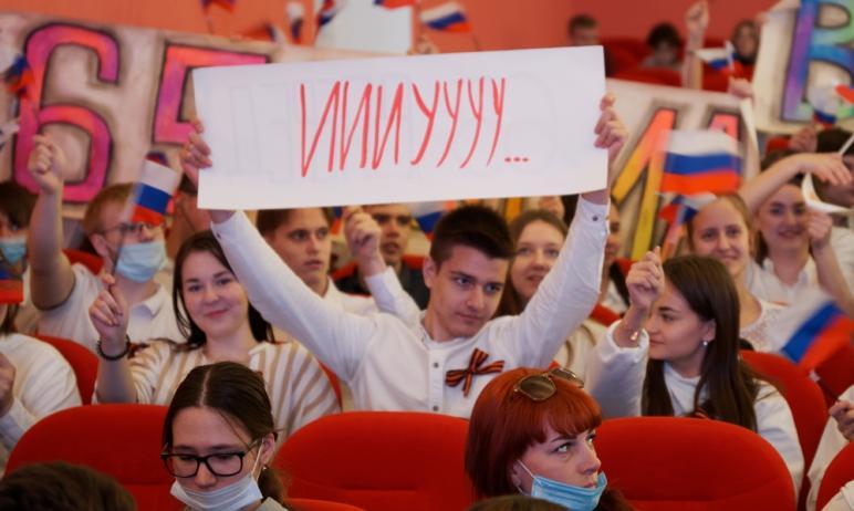 В Магнитогорске (Челябинская область) старшеклассники состязались в знании истории малой родины з