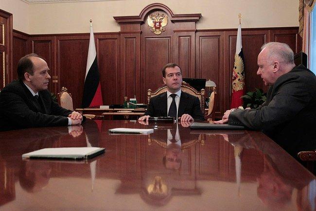 Они доложили президенту о промежуточных результатах расследования теракта в Домодедово.