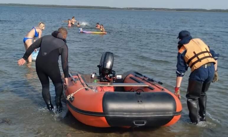 Мобильный отряд поисково-спасательной службы Челябинской области второй день ведет поиски утонувш