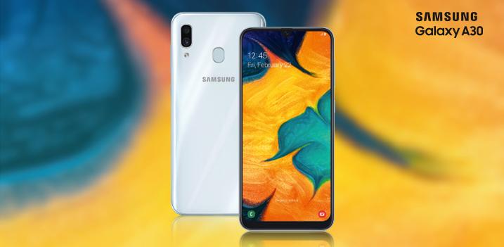 Билайн представляет возможность приобрести смартфоны Samsung Galaxy А30 в кредит без переплаты в