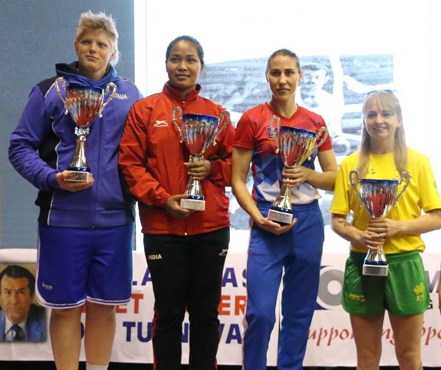 Мастер ринга Мария Сартакова из Челябинска завоевала серебряную медаль на соревнованиях боксеров