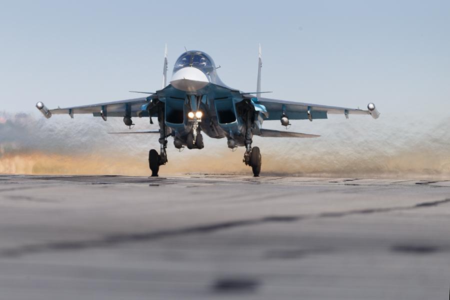 Российский истребитель Су-30СМ потерпел крушение в Сирии сегодня 3 мая. Оба пилота погибли.