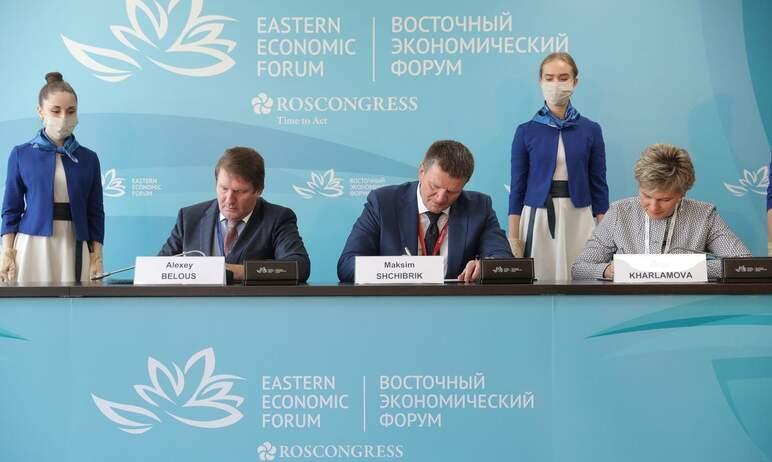 В ходе Восточного экономического форума Сбер, Газпромбанк и Группа «Русская медная компания» подп