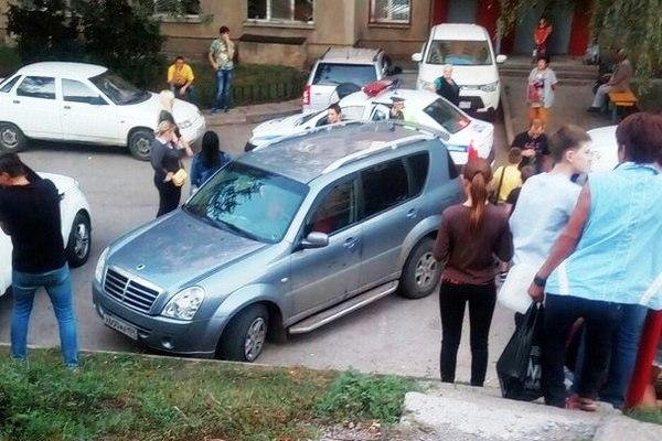Как сообщают очевидцы случившегося, всё произошло в минувшую субботу, 16 сентября, на проспекте Л