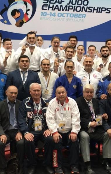 Челябинские дзюдоисты завоевали «золото» и «серебро» на чемпионате Европы среди слабослышащих в Б