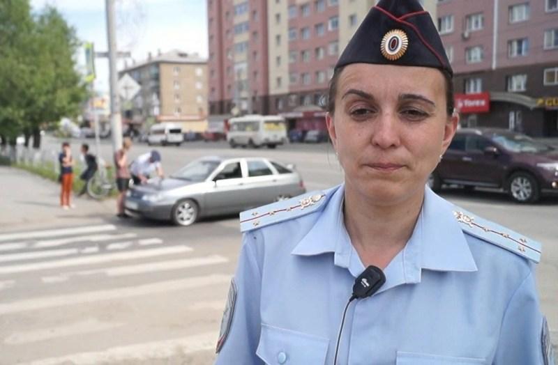 В Челябинске ребенок на велосипеде с неисправной тормозной системой протаранил легковушку. Водите