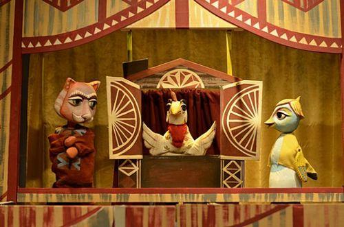 В Озёрском театре кукол «Золотой петушок» прошёл выпускной экзамен театральных классов школ город