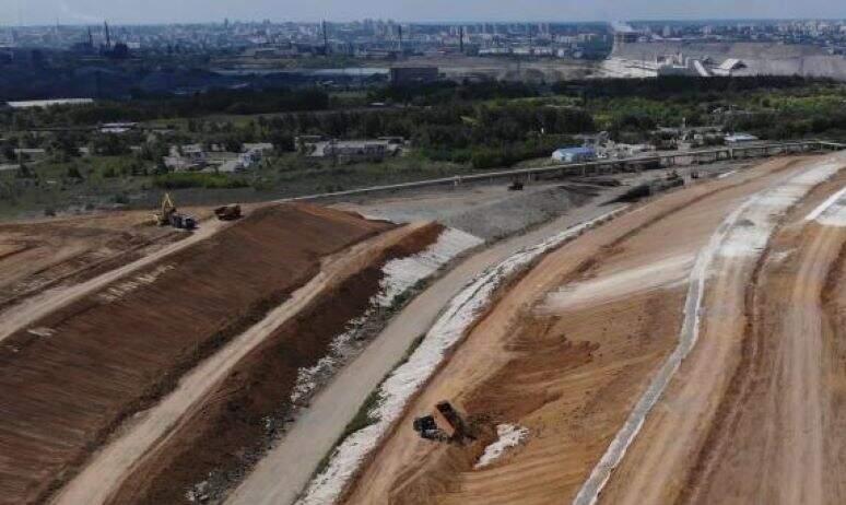 В Челябинске по случаю завершения рекультивации городской свалки в Металлургическом районе состои