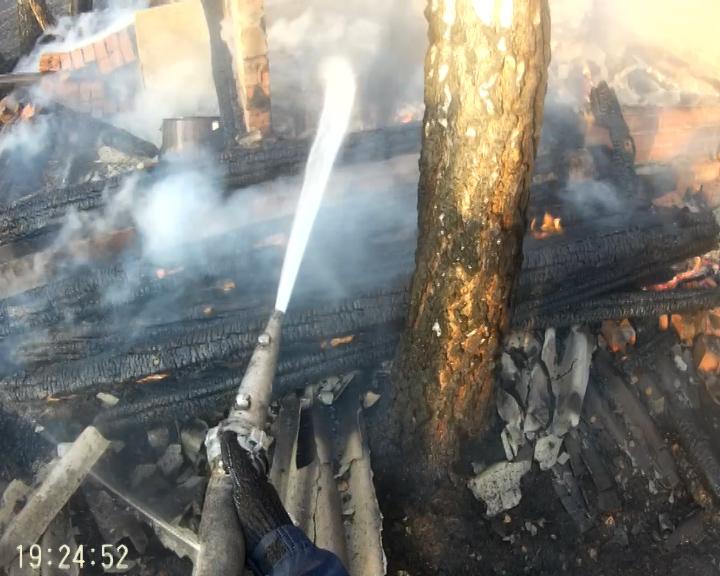 В Челябинской области сотрудники полиции принимают меры по минимизации последствий возгораний в л