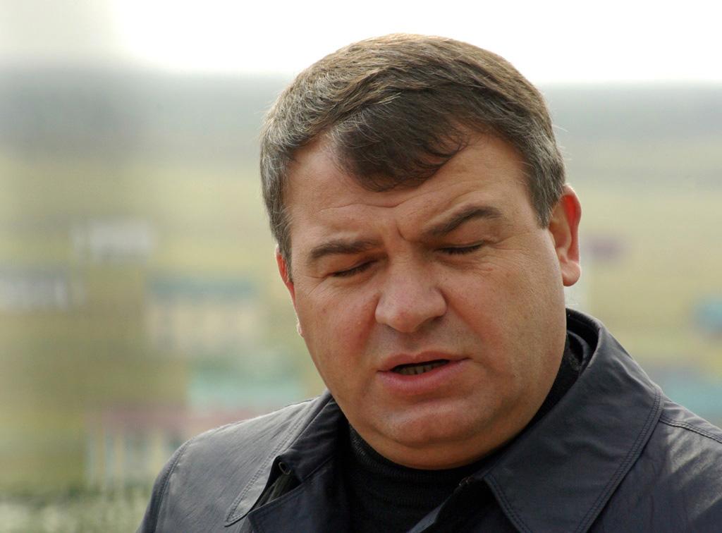 «Я принял решение отстранить министра Сердюкова от занимаемой должности именно потому, что возник