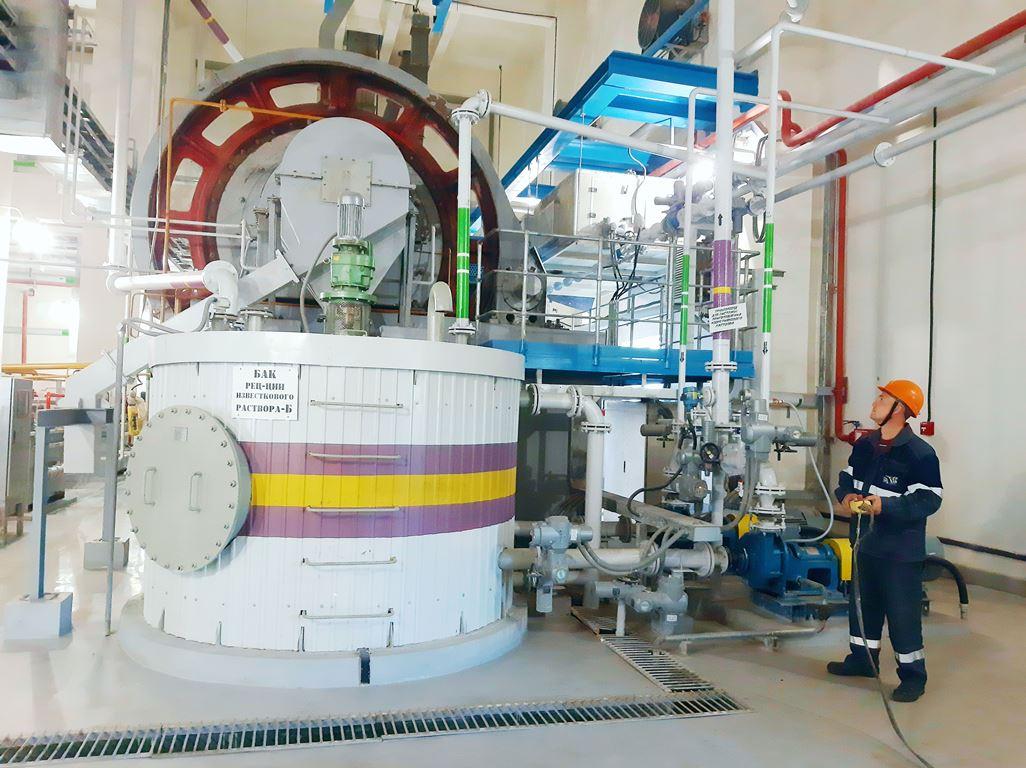 На Троицкой ГРЭС в рамках реализации инвестиционного проекта по строительству энергоблока №10 ПСУ