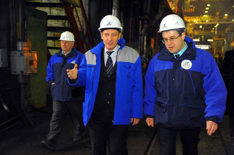 Глава Чебаркуля побывал в кузнечно-прессовом цехе «Уральской кузницы», где в конце 2017 года запу