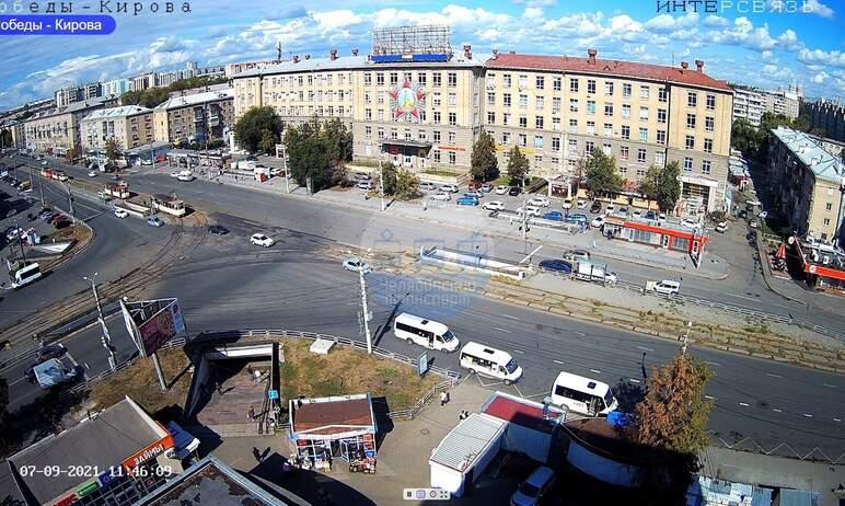 В Челябинске очередной трамвай сошел с рельсов. Это случилось сегодня днем, седьмого сентября, в